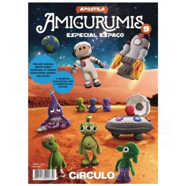 Apostila Amigurumis Círculo S/A | 600x600