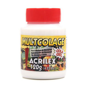 Multcolage - Cola Gel - 120g - Acrilex